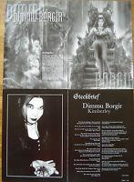 ⭐⭐⭐ 38 Pages - Collection ⭐⭐⭐ DIMMU BORGIR ⭐⭐⭐ Berichtesammlung  Pagecollection