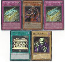 Spirit of The Pharaoh OTK Deck - Gold Sarcophagus - Yugioh - 48 Cards