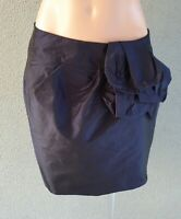 SALE ❤️ CUE Cocktail Bow Pencil Skirt Black Size 6 FREE POSTAGE L709