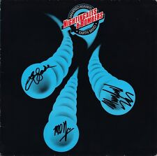 MANFRED MANN'S EARTH BAND Nightingales & Bombers VINYL LP Slade Autograph SIGNED