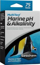 Seachem MultiTest HIGH PH Liquid Water Test Kit Freshwater & Marine Aquariums