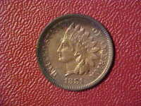 1881 INDIAN CENT - VERY NICE HIGH GRADE CIRC DETAILS COLLECTOR COIN!-  d985qdh