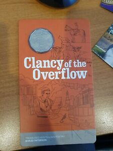 2020 Banjo Paterson - Clancy of the Overflow 50cent coin on card 20000 Mintage