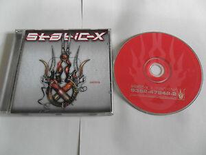 STATIC-X - Machine (CD 2001) METAL / Germany Pressing