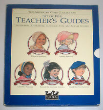 PLEASANT COMPANY American Girls Collection TEACHER'S GUIDES SET ISBN 1562472429