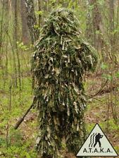 Ghillie Suit Gen4 mit Tarnung,Tarnanzug, Сamouflage, Sniper Anzug, Pencott Green