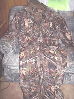 Mens Large Coveralls Realtree Kanati Camo Insulated Coveralls Waterproof Hunting
