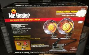 MH30T Mr. Heater Double Propane Tank Top Heater 10,000 to 30,000 BTU 750 Sq. Ft.