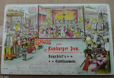Ansichtskarten aus Hamburg mit dem Thema Dom & Kirche
