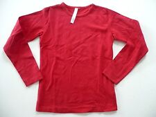 T Shirt MAIORISTA 8 ans fille manches longues rouge