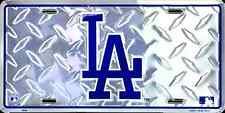LOS ANGELES LA DODGERS CAR TRUCK TAG DIAMOND LICENSE PLATE EMBOSSED METAL SIGN