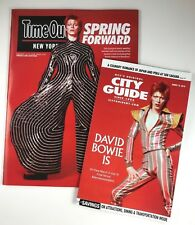 David Bowie Time Out New York magazine and NYC City Guide magazine