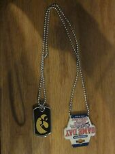 Iowa Hawkeyes GAME DAY NECKLACE DOG TAG free shipping!
