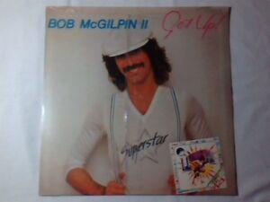 BOB McGILPIN II Get up! lp ITALY SIGILLATO