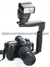 Flash Bracket Grip For CANON EOS 600D 650D 700D 60D 6D 7D 5D Mark II III DSLR
