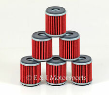2004 2005 2006 YAMAHA YFZ450 YFZ 450 ***6 PACK*** HIFLO OIL FILTERS FILTER