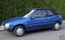 Peugeot Cabrio 205 Cappotta Materiale originale bianco