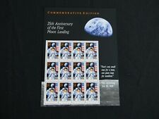 Moon Landing 25th Anniversary US Stamp #2841 Mint Never Hinged SHEET Issued 1994