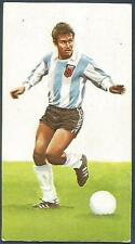 GOLDEN WONDER 1978 SOCCER WORLD CUP ALL STARS-#01-ARGENTINA-DANIEL BERTONI