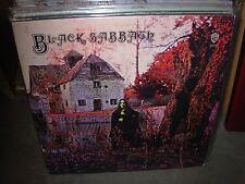 BLACK SABBATH self titled / debut lp ( rock ) reissue
