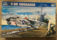 F-8E Crusader - Trumpeter 1/32 scale unassembled aircraft kit# 02272