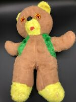 Teddy Bear Plush Stuffed Animal Vintage 1950s