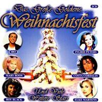 Das große goldene Weihnachtsfest (Palm/da) Ingrid Peters, Walbach Musik.. [2 CD]