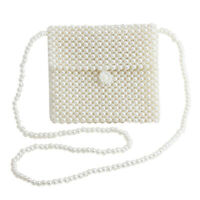 luxury handbags women bags purse shoulder bag pearl wedding clutches evening bag