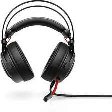 HP OMEN Wired Gaming Headset 800 | Black & Red | 1KF76AA#ABL