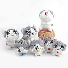 Super Cute Cat Plush Doll Toys Stuffed Animal Bolster Key chain Keyring Hot Sell