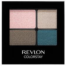 "REVLON COLORSTAY EYESHADOW QUAD ~ ""#526 ROMANTIC"" ~ NEW/SEALED ~ RRP $23.95"
