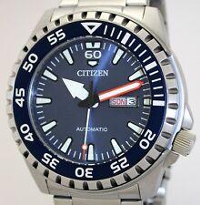 Massive citizen Automatic daydate reloj hombre WR 10 ATM nh8389-88