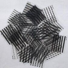 Manicure Decals DIY Sheet Decoration Black White Lace Stickers Nail Art 3D