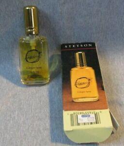 Vintage 80s Stetson Cologne Spray for Men .75 fl oz NEW IN BOX