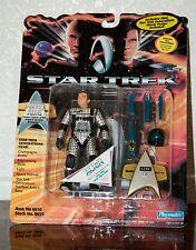 1994 STAR TREK GENERATIONS JAMES T. KIRK SPACE SUIT ACTION FIGURE MOC