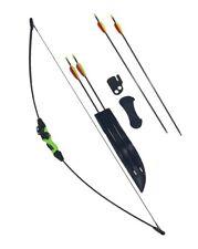 Wildcat Kids Childs Archery Beginners Junior Recurve Bow and Arrow Set, 6 Arrows