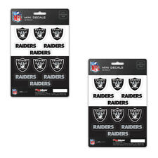 Team Promark Oakland Raiders Decal Set Mini 12 Pack