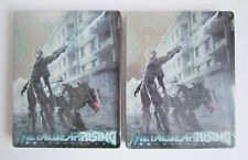 METAL GEAR RISING REVENGEANCE STEELBOOK - G2 SIZE - FACTORY SEALED (NO GAME).