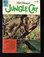4-COLOR  JUNGLE CAT  #1136  DELL 1960 GD+  MOVIE/TV...PHOTO-c  WALT DISNEY