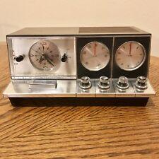 Vintage Elgin R-2700  AM/FM  10 Transistor-Alarm Clock Radio. Tested And Works