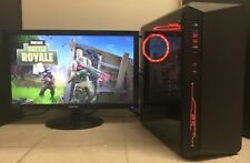 RGB Gaming PC Desktop Computer NVIDIA GeForce GTX 1060 Intel 4-Core i5 8GB 1TB