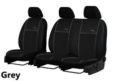 """PEUGEOT BOXER 2+1 ECO LEATHER UNIVERSAL FRONT SEAT COVERS """"eco line"""""""