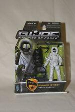 GI Joe The Rise Of Cobra Snake Eyes Arctic Assault Action Figure  MOC 2009
