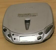 Sony D-E440 Portable Discman With ESP2 Tested And Working