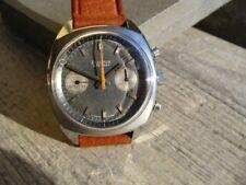 Vintage Watch Bulova 666 Diver Chronograph Valjoux 7733