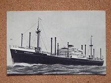 R&L Postcard: Holland-America Line, MV Sommelsdijk