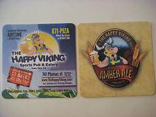 Beer Coaster <> The Happy Viking Sports Pub & Eatery Ale ~ Yuba City, CALIFORNIA
