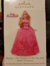 Hallmark Keepsake 2012 Barbie Princess & Pop Star Ornament NIB