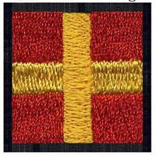 R Romeo : Flag Embroidered Patch International Maritime Nautical Navy Signal