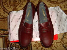 Salamander Germany Brown Leather Oxford Shoes Size 11 EU44 New